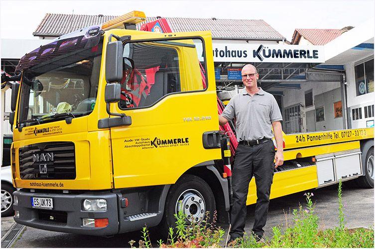 KFZ Werkstatt Kümmerle in Altenriet, Abschleppdienst und Pannendienst für