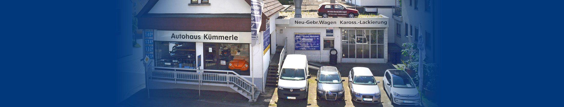 Unfallreparatur und Karrossieriearbeiten: Autowerkstatt Kümmerle in Pliezhausen Altenriet